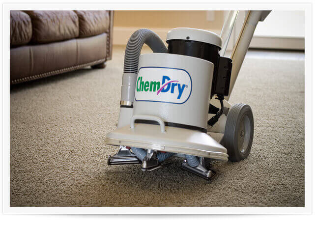 chem-dry equipment doing a carpet cleaning in salt lake city ut