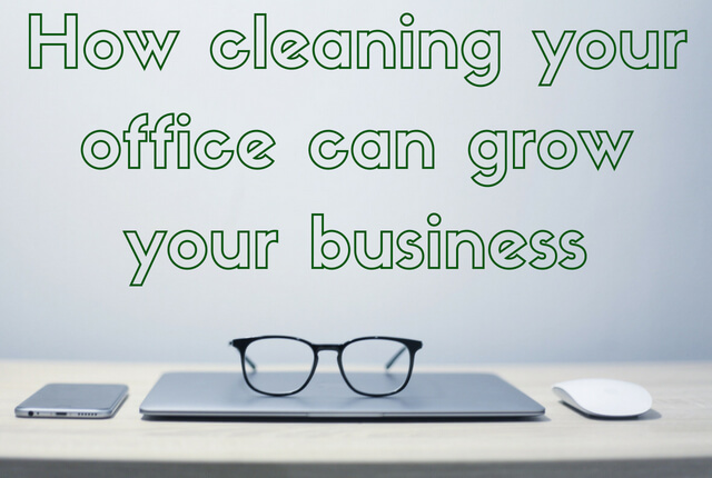 A Clean Office Boosts Workplace Productivity