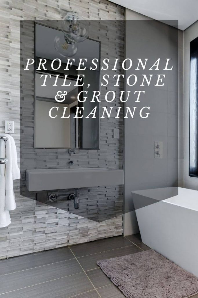 professional tile cleaning graphic