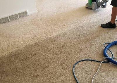 chem-dry tech performing carpet cleaning in salt lake city ut